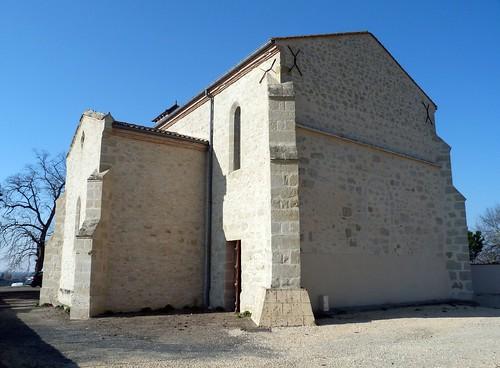 Hautesvignes - L'Eglise Saint Etienne-de-Bernac 02