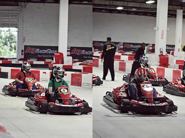 work go-karts 21 diptych