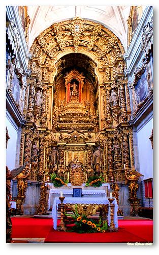 Capela-mor do mosteiro de Arouca by VRfoto