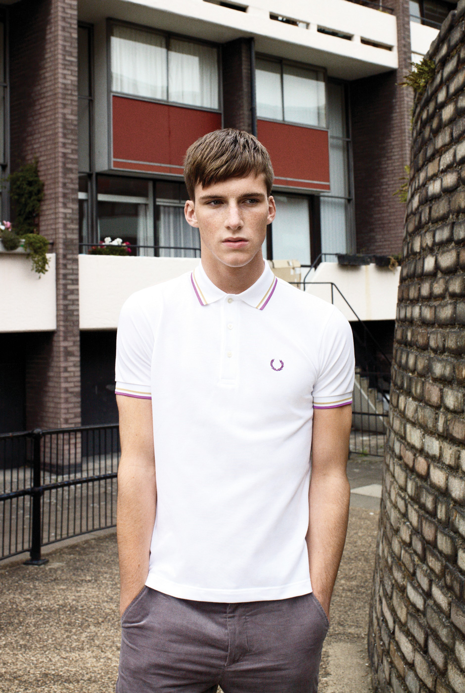 Johnny George0010_FRED PERRY SS12