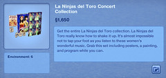 La Ninjas del Toro Concert Collection