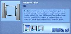 Fibonacci Fence