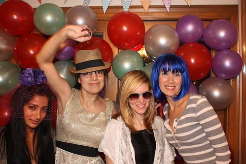 Shar, Sara, Alex & Jill - 2/4/12