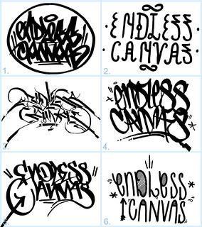 FINAL VOTE - 2012 ENDLESS CANVAS Best HandStyle Contest Finalists