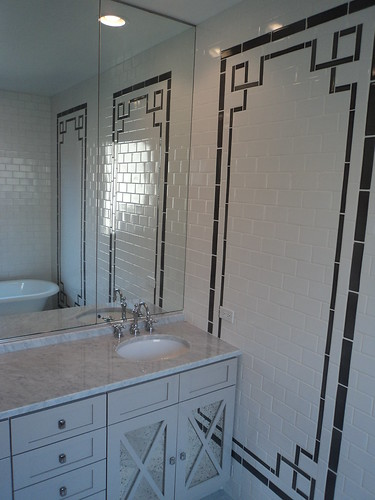completed master bathroom