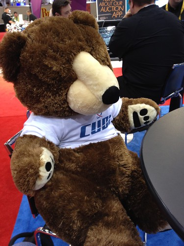 Won me a big bear at the CUDL booth at NADA