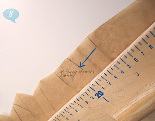 Pleats - tutorial, tworzenie wykroju zakładek, modelowanie, instrukcja, szycie, krawiectwo, DIY