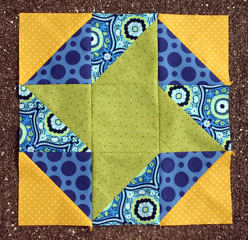 Friendship Hexagon block tutorial