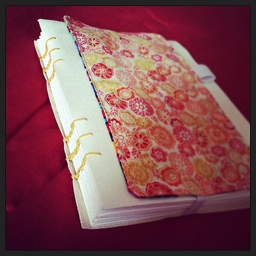 Coptic stitch journal