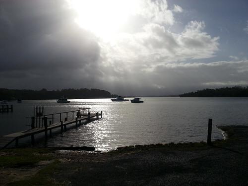 Wallis Lake at Coomba Park NSW