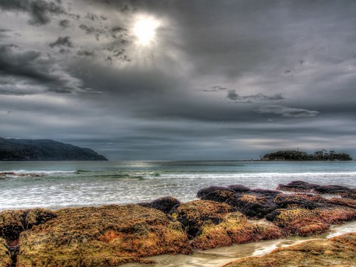 ocean seascape tasmania