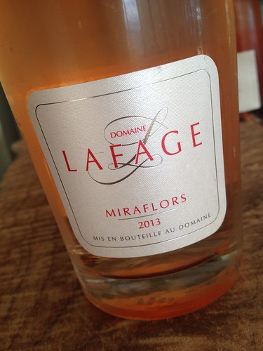 Lafage Miraflores Rosé.