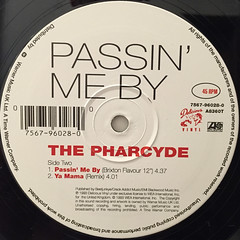 THE PHARCYDE:PASSIN' ME BY(LABEL SIDE-B)