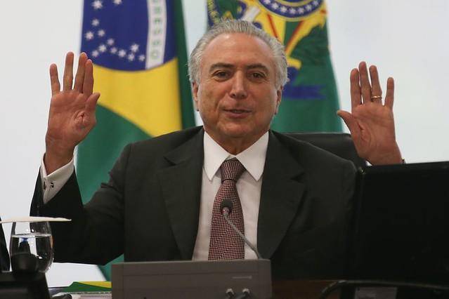 Temer se reúne com dirigentes de centrais sindicais - Créditos: Fabio Pozzebom/Agência Brasil