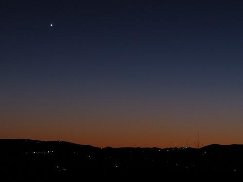 sky landscape venus northcarolina planet blueridgeparkway eveningstar westernnorthcarolina southernappalachians ccbyncsa canonpowershotsx10is