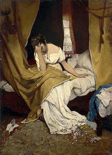 Max, Gabriel (1840-1915) - 1870s Morning (Hermitage Museum, St. Petersburg, Russia) by RasMarley