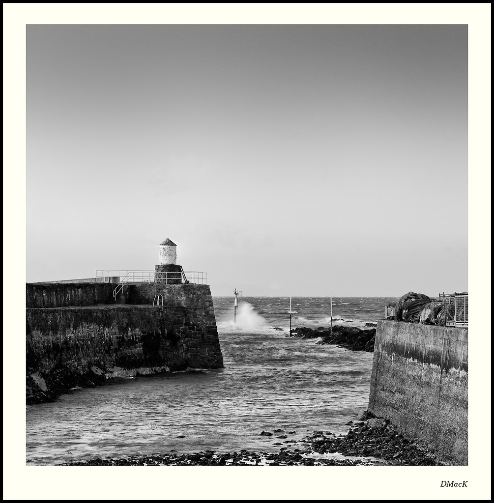 Exit from Pittenweem Harbour