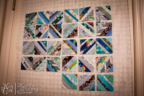 Orca Bay Mystery Quilt Progress