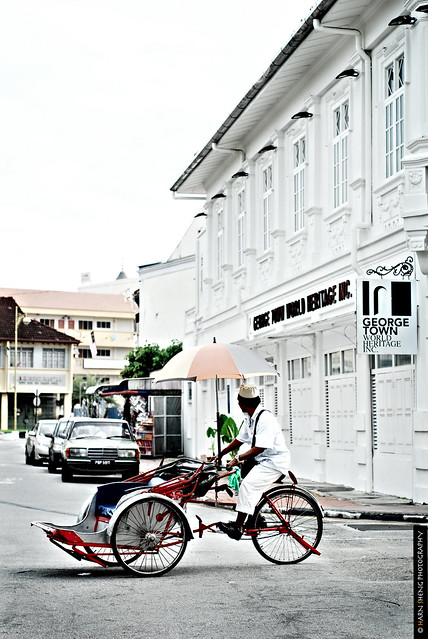Trishaw and Georgetown