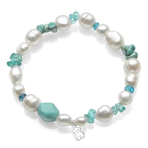 pulsera-perlas-y-turquesas-Tous