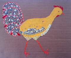 Chicken Collage Day 13 (November 28, 2011) by randubnick