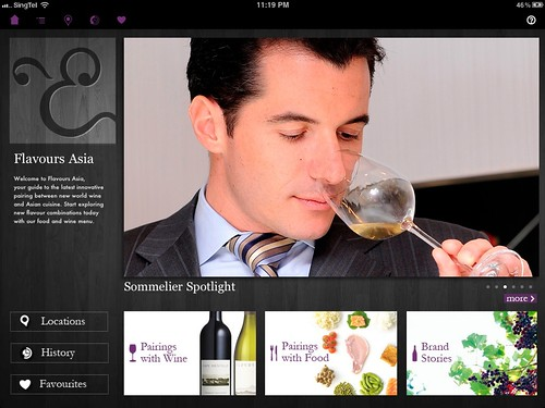 Sommelier profile on Flavours Asia
