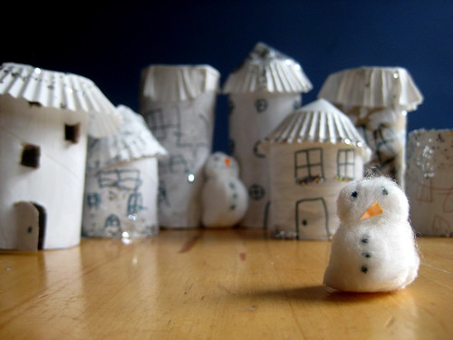 model Christmas village