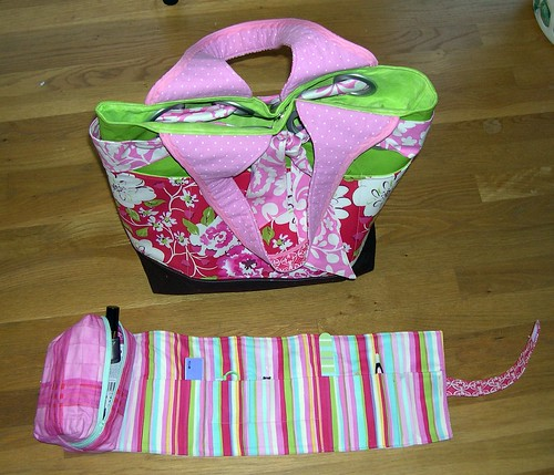 Finished Caddy with Coordinating Bag