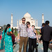Me and Haley at the Taj Mahal by TenSafeFrogs