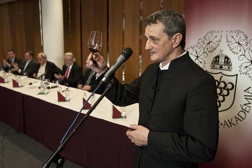 Év Bortermelője 2011: Vida Péter (Fotó: Szigetváry Zsolt)