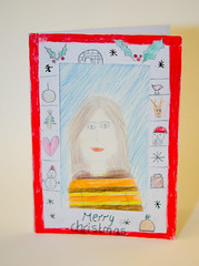 Help for Heroes Christmas cards for soldiers by Woodleigh School (29 of 34)