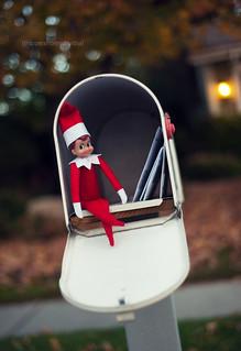 Elf on the Shelf, December 1st