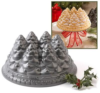 北欧软件圣诞树蛋糕