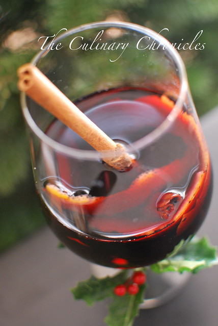 Spiced Mulled Wine And Our Giveaway Winner