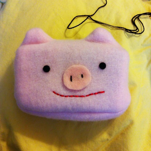 Piggy Tissue Pal front view