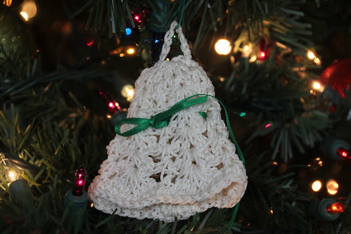 Crocheted Bell Ornament