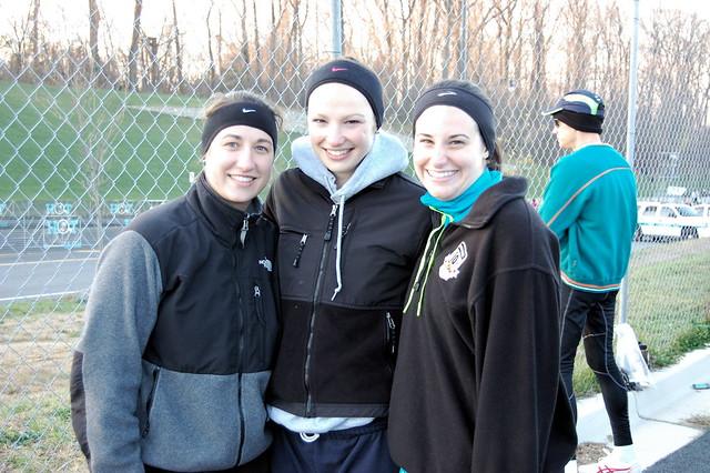 Hannah, Meredith, Jess