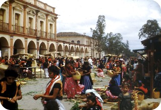 market day in Juchitan