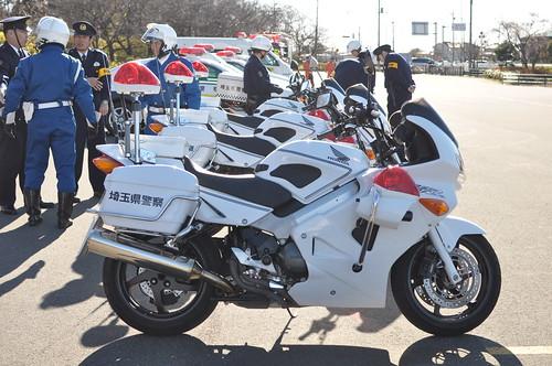 HONDA VFR Police Bike