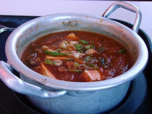 Spicy Pork & Kimchi soup