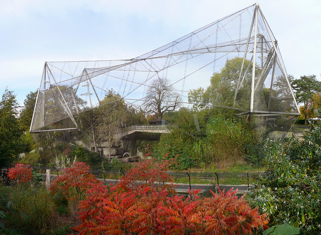 Aviary, London Zoo by Cedric Price