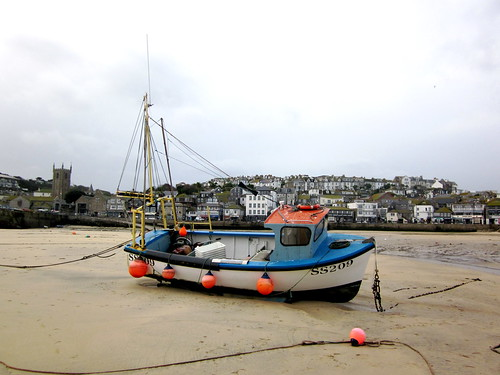 St. Ives Low Tide