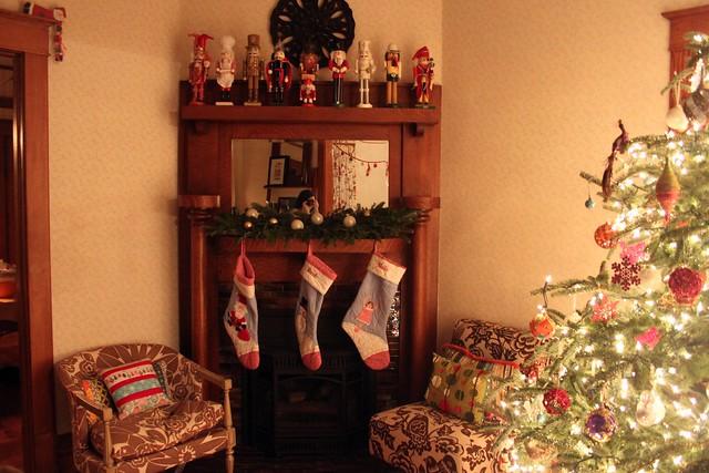 Christmas-y corner