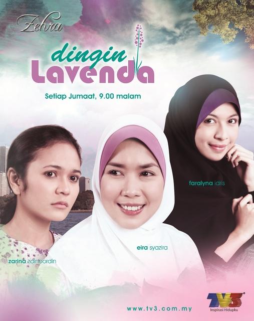 Poster Zehra Dingin Lavenda