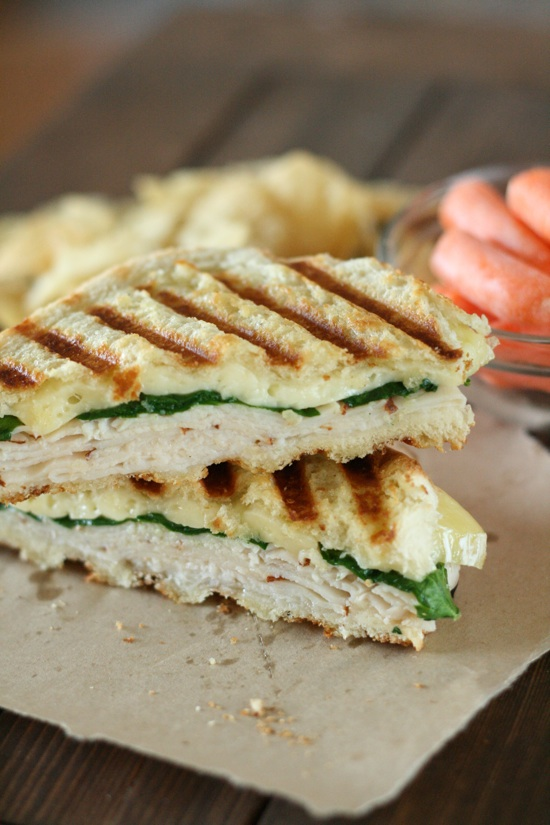 Cajun Turkey and Brie Panini 3