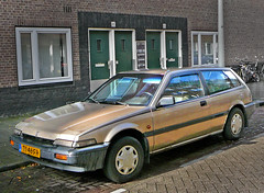 Honda Accord Aerodeck, 1989, Amsterdam, Marco Polostraat, 10-2010