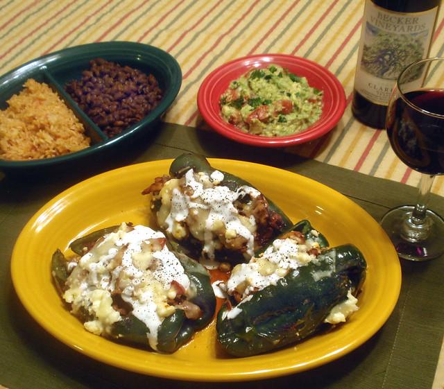 Chicken Chile Rellenos Dinner | Flickr - Photo Sharing!