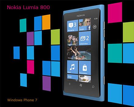 Nokia Lumia 800 on Microsoft Windows Phone 7. Click on image to see full data sheet.
