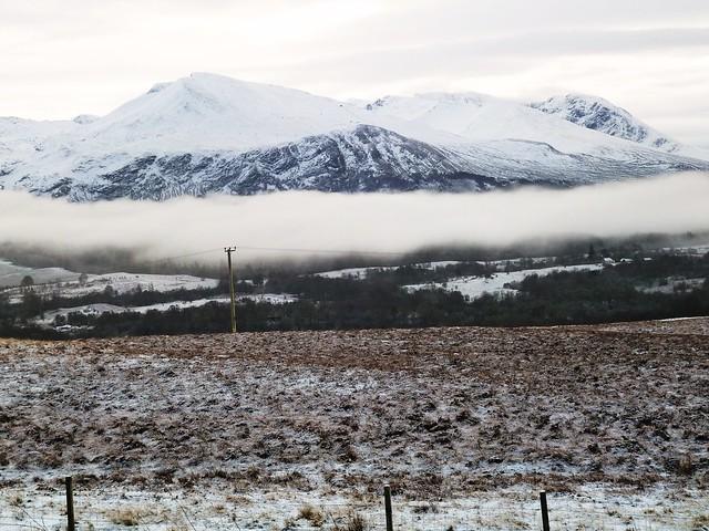 Winter Scene, Cairngorms