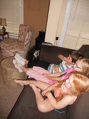 "After ""dinner"" the kids watched Toy Story 3"